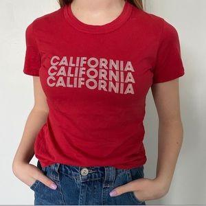 Brandy Melville's J Galt California t-shirt $16